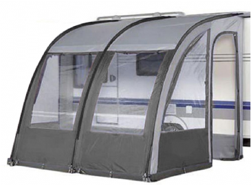 Leisurewize Ontario 260 Lightweight Caravan Porch Awning Charcoal Grey